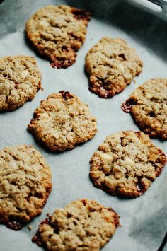 WHITE CHOCOLATE & CARAMEL OAT COOKIES || Roses in the Oven