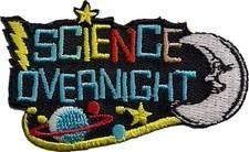 Science Overnight fun patch. Iron-on! #6882343 | $1.50