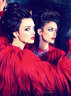 Charlotte Le Bon by Ellen Von Unwerth for Vogue Russia
