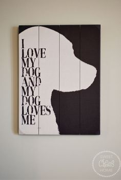 Sweet Chaos: tween bedroom - great piece of dog art- love it!