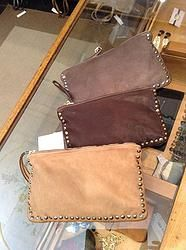 Italian leather Clutch ....