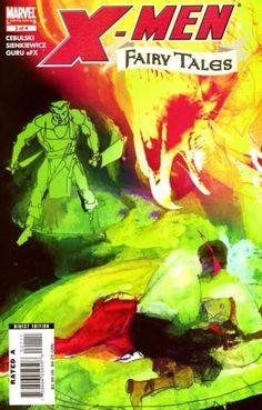 X-Men: Fairy Tales 3 Marvel Comic Book cover