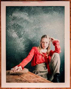 "Chloe Sevigny from the film, ""Antibirth,"" photographed in the L.A. Times photo & video studio at the Sundance Film Festival, in Park City, Utah, on Jan. 24, 2016. (Jay L. Clendenin / Los Angeles Times)"