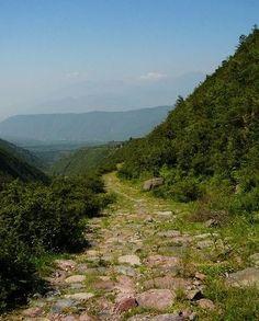 Tea Road (Silk Road) in Yunnan, China