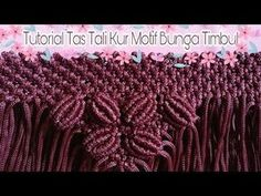 Macrame Bag, Micro Macrame, Macrame Youtube, Embroidery Bags, Macrame Patterns, Purses And Bags, Knots, Weaving, Projects To Try
