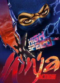 High Speed Ninja Action, tribute to cheesy movies