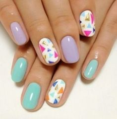 Summery Nails