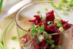 Rafraîchissante et succulente : la salade de betteraves et pommes !