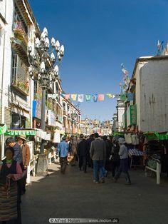 The Alley . Tibet