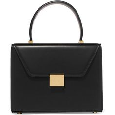 Victoria Beckham Vanity mini leather tote (24.696.970 IDR) ❤ liked on Polyvore featuring bags, handbags, tote bags, mini tote, mini leather tote bags, mini purse, leather handbags and tote purses