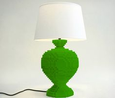 Light Up Your Life With the LEGO Lamp. The green Lego lamp should be for kids, do you agree? In our opinion it's an amazing idea, for grownups as well.