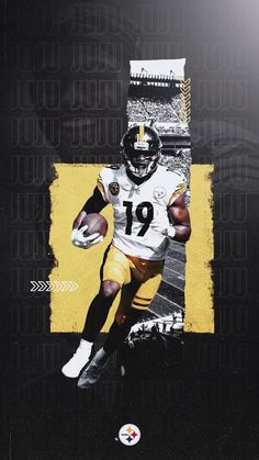 Meech's Personal Graphics - Design x Retouch Series Sports Graphic Design, Graphic Design Posters, Sport Design, Pitsburgh Steelers, Sports Marketing, Football Design, Sports Graphics, Football Wallpaper, Football Pictures