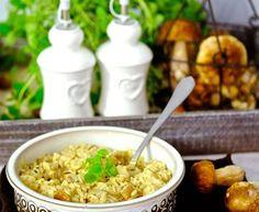 Risotto z grzybami i kurczakiem