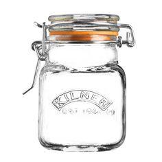 Kilner Square Clip Top Jar 70ml