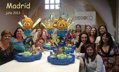Taller TowerCake de Natalia Da Silva Escuela: Barroco Cakes Madrid -España julio-2013
