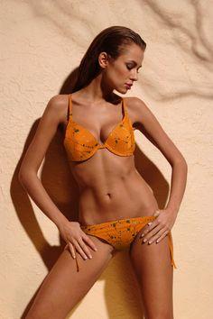 Awesome Two-Piece Swimsuit  Kostium kąpielowy Diamonds Orange - Demi Saison Check more at http://www.brandsforless.gr/shop/women/two-piece-swimsuit-kostium-kapielowy-diamonds-orange-demi-saison/
