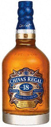 Chivas Regal Scotch 18 Yr.