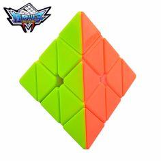 Pirámide Pyraminx Cyclone Niños 3x3x3 Cubo Mágico Puzzle Cubo de la Velocidad-Colorido