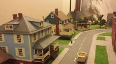 Whittemore HO Scale Train Table - March 2015 - Bachmann Sears Craftsman Catalog House