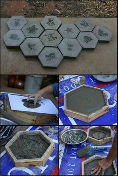 Making Your Own Stepping Stones is a Practical and Fun Way of Upgrading Your Home