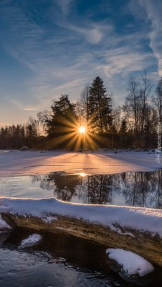 Beautiful Sites, Beautiful Sunset, Beautiful Images, Winter Pictures, Nature Pictures, Winter Photography, Nature Photography, Winter Sunset, Autumn Scenery
