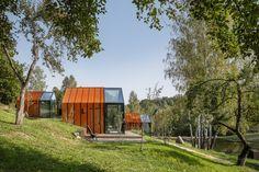 Saunas, Casa Cook Hotel, Glass Cabin, Wellness Resort, Glass Structure, Sleeping Under The Stars, Corten Steel, Forest House, Terrace Garden