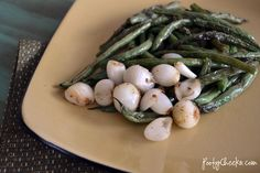 Sauteed garlic green beans