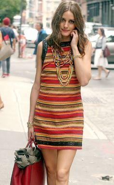 oliva Palermo multi colour dress #oliviapalermo #outfit #fashion