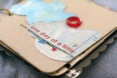 scrapbook - love the whole idea of a mini-book