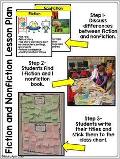Nonfiction vs. Fiction Book Sort