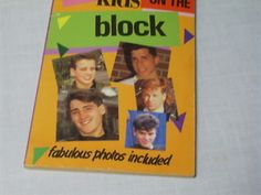 Vintage 80s New Kids on the Block Paperback Book-Mortified that I read this cover to coer like 10 times