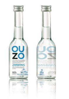 Ouzo is uniquely Greek and its most popular alcoholic drink. It has been around for many hundred years and has a profound culture and history. The Geek government thinks it is so unique that it won the exclusive rights to use the product name ouzo. Water Packaging, Beauty Packaging, Bottle Packaging, Cheat Meal, Label Design, Branding Design, Package Design, Branding Agency, Graphic Design
