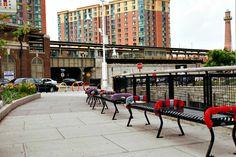 Yarn bombing in Yonkers by Sarah Divi