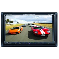 "Absolute DD-1000 - Double-DIN In-Dash DVD Receiver with 7"" TFT LCD Touchscreen Monitor and Front USB/AUX/SD Inputs - $169.00"
