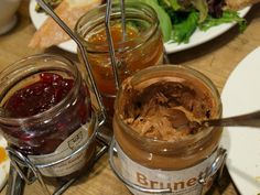 Le Pain Quotidien Brunette~ oh my yum These spreads are so delicious.