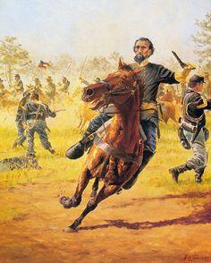 """""""Lt General Nathan Bedford Forrest"""", Clyde Heron"""