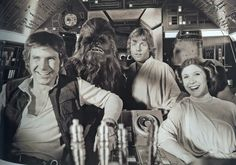 Star Wars, Chewbacca, Wookie, relationships, friends, humor