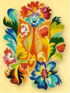 Work of the modern Ukrainian artists.  Самчиківський розпис – диво Хмельниччини! | ГАРБУЗ