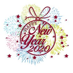 Happy New Year 2020 background with fireworks. Happy New Year Stickers, Happy New Year Quotes, Happy New Year Cards, Happy New Year 2019, Happy Year, New Year 2020, Cute Girl Hd Wallpaper, Happy New Year Wallpaper, New Year Cards Handmade