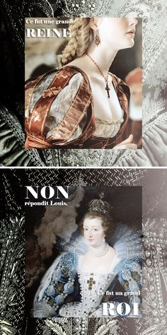 """Anne of Austria: - """"She was a great queen sire."""" """"No, monsieur,"""" answered Louis XIV after his mother's death. """"She was more than that. She was a great king."""""""