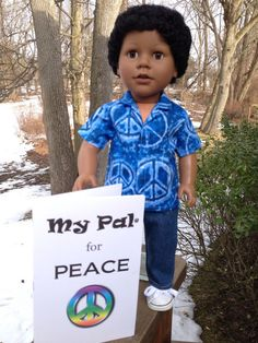 My Sibling and My Pal Dolls — 18 inch boy doll - My Pal for Peace