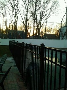 Here's an example of a Holtsville Fence Installation