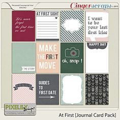 At First [Journal Card Pack]