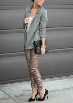 #sequin pants