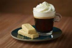 Irish Coffee and Shortbread - Nespresso Recipes Irish Coffee, Milk Shakes, Latte Macchiato, 24 Hour Coffee Shop, Cafe Rico, Nespresso Recipes, Coffee Ingredients, Café Chocolate, Silicone Baking Sheet
