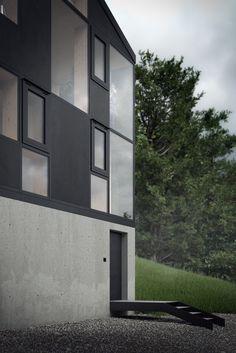 Haus Hohlen on Behance