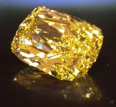The Golden Eye. This 43.51 carat internally flawless fancy yellow diamond, was seized in a drug sting and auctioned off by the U.S. Government in 2011 for $2,480,000.