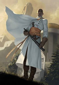 a collection of inspiration for settings, npcs, and pcs for my sci-fi and fantasy rpg games. Fantasy Character Design, Character Concept, Character Art, Concept Art, Fantasy Warrior, Fantasy Male, Fantasy Rpg, Dnd Characters, Fantasy Characters