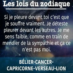 Et poisson - Horoscope Quotes Astrology Aquarius, Zodiac Capricorn, Astrology Signs, Zodiac Signs, Cancer Horoscope Dates, Dark Quotes, Sign Quotes, How To Look Better, Messages