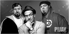 """P!JAY - das sind Koch, Glas, Pfarrah und M die aktuell mit ihrer Maxi """"That Ain´t Hip Hop"""" feat. Prop Dylan für Furore sorgen und schon als Support für Inspektah Deck, El Da Sensei, Reks, und den Beatnuts spielten, leiten mit den DJs und Produzenten 12Finger Dan und B-Base von SOULBROTHA - die bereits mit US-Legenden wie DJ Premier, Large Pro, Blaq Poet u.v.m. Zusammengearbeitet haben - eine Liaision ein um den Hip-Hop Heads diesseits wieder ein gutes Stück Boom Bap-Sound liefern zu können."""